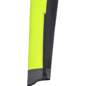 GORE WEAR C7 Windstopper Jakke Herrer, black/neon yellow